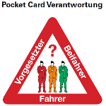 Pocket Card Verantwortung